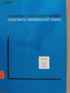 Buzgó József - A mezőgazdaság IV. ötéves tervének kísérleti jellegű ökonometriai vizsgálata [antikvár]