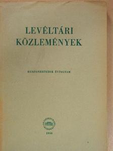 Dávid Zoltán - Levéltári közlemények XXVII. [antikvár]