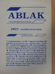 András Imre - Ablak 1992/1. [antikvár]