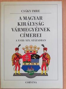 Bertényi Iván - A magyar királyság vármegyéinek címerei a XVIII-XIX. században [antikvár]