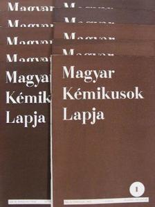 Almássy Gyula - Magyar Kémikusok Lapja 1956. (nem teljes évfolyam) [antikvár]