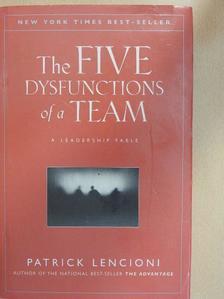 Patrick Lencioni - The Five Dysfunctions of a Team [antikvár]