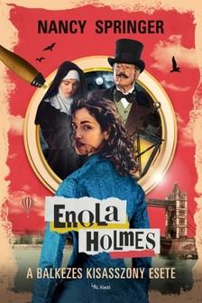 Nancy Springer - Enola Holmes - A balkezes kisasszony esete [eKönyv: epub, mobi]