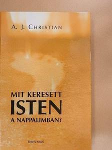 A. J. Christian - Mit keresett Isten a nappalimban? [antikvár]
