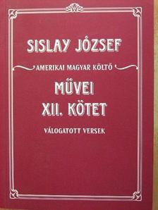 Sislay József - Válogatott versek [antikvár]