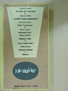 Bakonyi Péter - Jennifer és Tuburkán/Családi kripta százezerért/Páter Tarziciusz/Másokért élni/Halálom után/Tus a halál ellen/Szökés közben/Mámor [antikvár]