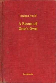 Virginia Woolf - A Room of One's Own [eKönyv: epub, mobi]