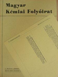 Baán Attila - Magyar Kémiai Folyóirat 1967. február [antikvár]
