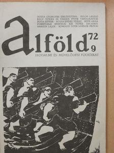 Aczél Géza - Alföld 1972/9. [antikvár]