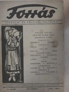Hankiss János - Forrás 1943. január [antikvár]