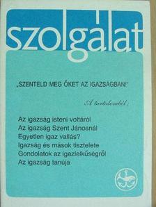Alszeghy Zoltán - Szolgálat 1989. Húsvét [antikvár]