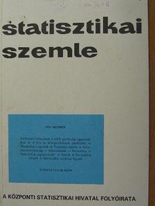 Barta Barnabás - Statisztikai Szemle 1994. október [antikvár]