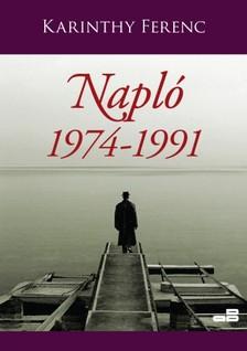 Karinthy Ferenc - Napló 3. kötet 1974-1991 [eKönyv: epub, mobi]