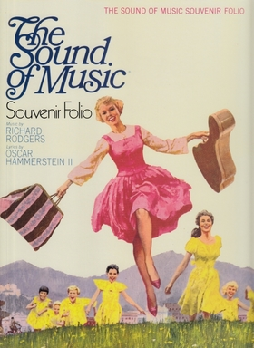 RODGERS, RICHARD - THE SOUND OF MUSIC. SOUVENIR FOLIO FOR VOICE AND PIANO
