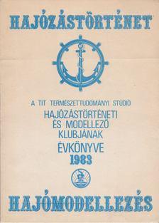 Serényi Péter - Hajózástörténet hajómodellezés [antikvár]