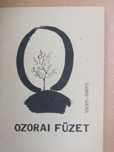 Aczél György - Ozorai füzet [antikvár]