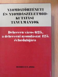 Benkő Ferenc - Nyomdatörténeti és nyomdászéletmód-kutatási tanulmányok [antikvár]