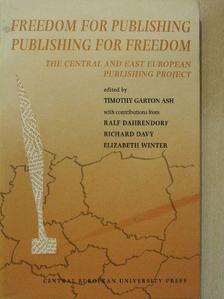 Elizabeth Winter - Freedom for Publishing, Publishing for Freedom [antikvár]