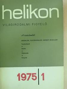Bonyhai Gábor - Helikon 1975/1. [antikvár]