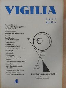 Czigány György - Vigilia 1977. április [antikvár]