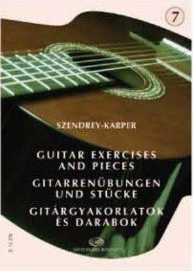 SZENDREY - KARPER - GITÁRGYAKORLATOK ÉS DARABOK 7