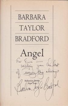 Barbara Taylor BRADFORD - Angel (dedikált) [antikvár]
