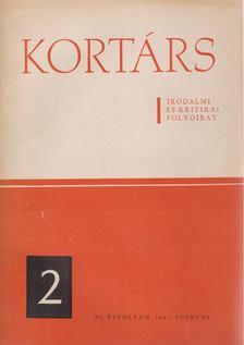 Simon István - Kortárs XI. évf. 1967. február [antikvár]