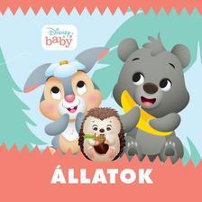 Disney Baby - Állatok (zörgős textil könyv)
