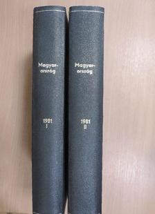 Gárdos Miklós - Magyarország 1981. január-december I-II. [antikvár]