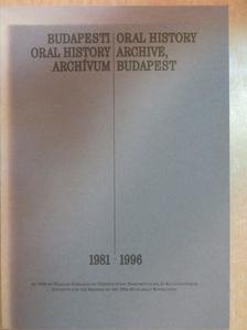 Kozák Gyula - Budapesti Oral History Archívum [antikvár]