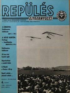 Büki Péter - Repülés-ejtőernyőzés 1981. június [antikvár]