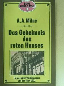 A. A. Milne - Das Geheimnis des roten Hauses [antikvár]