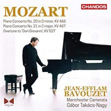 MOZART - PIANO CONCERTOS CD KV 467, 527, 466