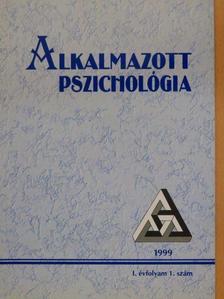 Balogh László - Alkalmazott Pszichológia 1999/1. [antikvár]