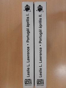 Leslie L. Lawrence - Portugál április I-II. (dedikált példány) [antikvár]