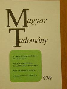 Donáth Péter - Magyar Tudomány 1997. szeptember [antikvár]