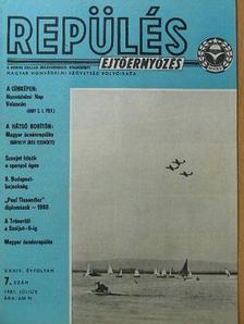 Büki Péter - Repülés-ejtőernyőzés 1981. július [antikvár]