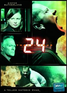 24 - DVD - A TELJES HATODIK ÉVAD -