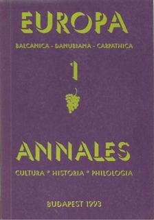 Miskolczy Ambrus - Europa Annales 1. [antikvár]