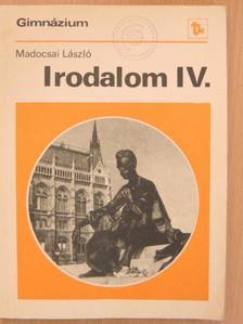 Alekszandr Alekszandrovics Blok - Irodalom IV. [antikvár]