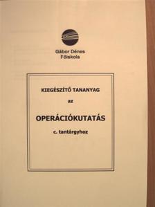 Hillier - Kiegészítő tananyag az Operációkutatás c. tantárgyhoz [antikvár]