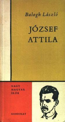 Balogh László - József Attila [antikvár]