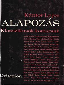 Kántor Lajos - Alapozás [antikvár]