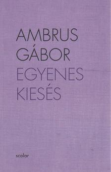 Ambrus Gábor - Egyenes kiesés (dedikált) [antikvár]