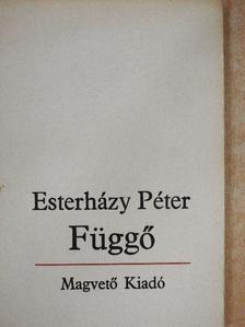 Esterházy Péter - Függő  [antikvár]