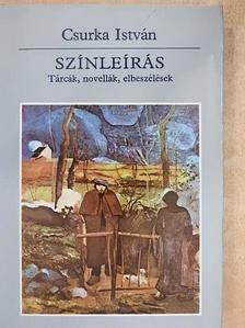 Csurka István - Színleírás [antikvár]