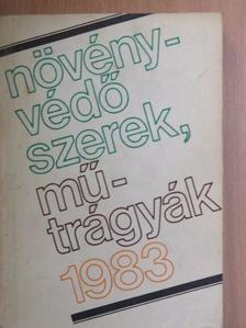Dr. Bordás Sándor - Növényvédőszerek, műtrágyák 1983 [antikvár]