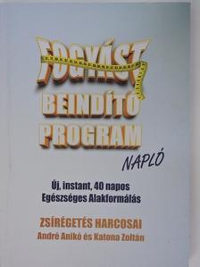 Katona Zoltán - Fogyást Beindító Program Napló [antikvár]