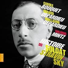 STRAVINSKY - HISTOIRE DU SOLDAT CD SHLOMO MINTZ, DEPARDIEUBOUQUET