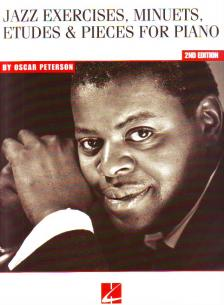 Peterson, Oscar - JAZZ EXERCISES, MINUETS, ETUDES & PIECES FOR PIANO 2ND EDITION